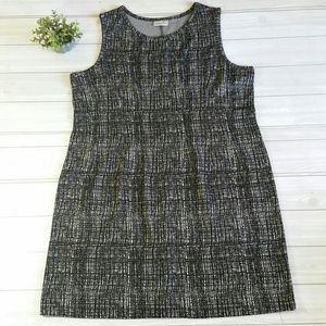 Avenue Plus Shift Dress Black Size 22/24